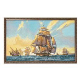Армада (92х54 см) — картина в багете