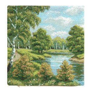 Берёза у озера 2
