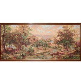 Долина реки Арно (110*54 см) — картина в багете
