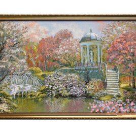 Дыхание весны (92х54 см) — картина в багете