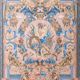 Геральдика (150*235 см) — скатерть декоративная на подкладке