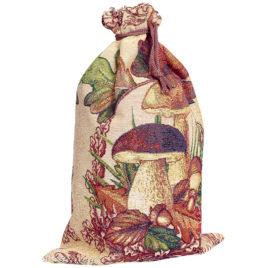 Грибы (25х35 см) — мешочек декоративный