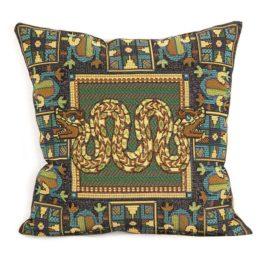 Искусство Майя (38х38 см) — наволочка декоративная