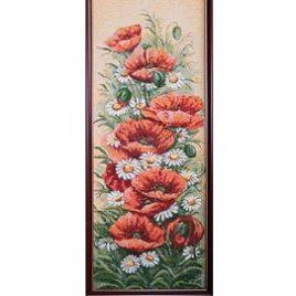 Южный букет (26х65 см) — картина в багете