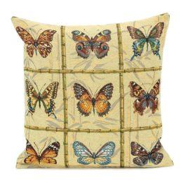 Коллекция бабочек (50х50 см) — наволочка декоративная