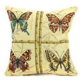 Коллекция бабочек (35х35 см) — наволочка декоративная