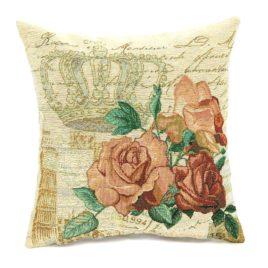 Королевские розы (38х38 см) — наволочка декоративная