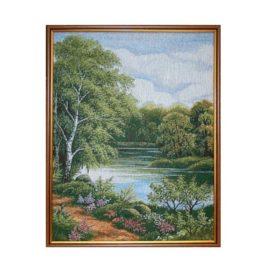 Летний мотив (40х50 см) — картина в багете