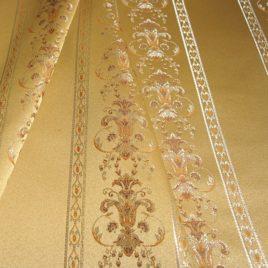 Людовик (золото) 145х280 см — комплект штор