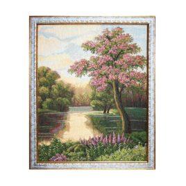 Майский вечер (50х40 см) — картина в багете