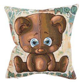 Мой медвежонок (38х38 см) — наволочка декоративная