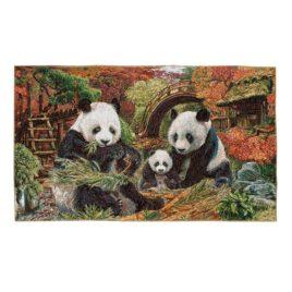Панды (84х50 см) — гобелен без рамки