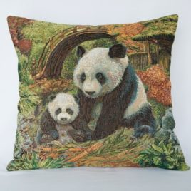 Панды (50х50 см) — наволочка декоративная