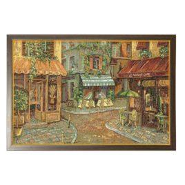 Парижское кафе (53х33 см) — картина в багете