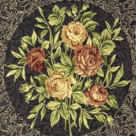 Ретро розы (38*38 см) — комплект салфеток 4 шт
