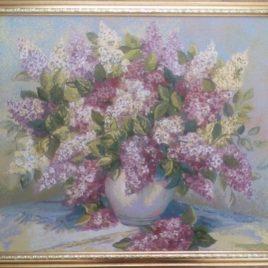 Сирень (64*54 см) — картина в багете