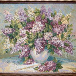 Сирень (64х54 см) — картина в багете