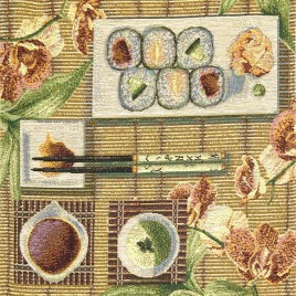 Суши (38х38 см) — комплект салфеток 4 шт