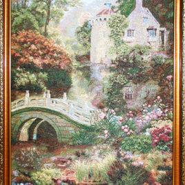 Таинственный пруд (54*80 см) — картина в багете