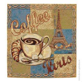 Утро в Париже (38х38 см) — комплект салфеток 4 шт