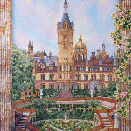 Замок (180х235 см) — панно гобеленовое