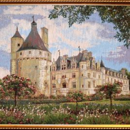 Замок Шенансо (52*61 см)- картина в багете