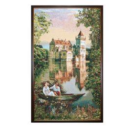 Замок мечты (54*86 см) — картина в багете