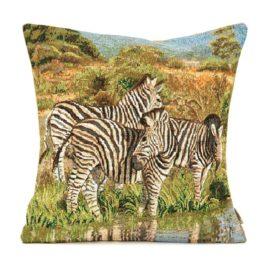 Зебры (38х38 см) — наволочка декоративная