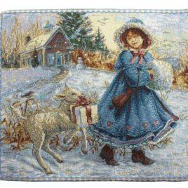 Зимняя сказка (28х26 см) — комплект салфеток 6 шт