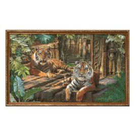 Зов джунглей (89х59 см) — картина в багете