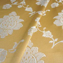 Анабель (золото) 145*280 см — комплект штор