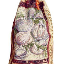 Чеснок (25х40 см) — мешочек декоративный