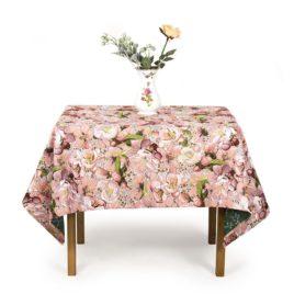 Цветочная симфония (150х160 см) — скатерть декоративная