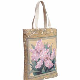 Ирисы 37*42 см — сумка декоративная