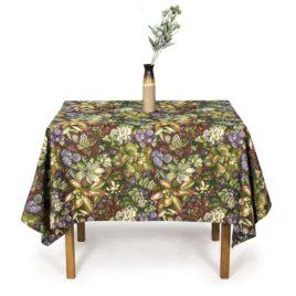 Каменный цветок (150х160 см) — скатерть декоративная
