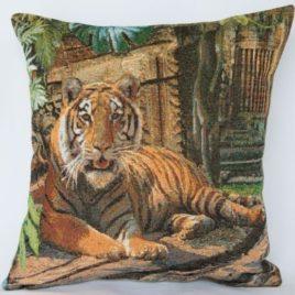 Тигр (40х40 см) — наволочка декоративная
