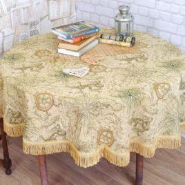Азимут (d 160 см) — скатерть гобеленовая