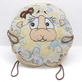 Лапушки (d 38 см) — подушка декоративная
