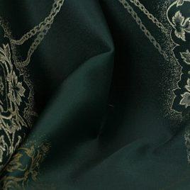 Медальон (изумруд) — ткань портьерная