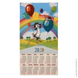 Авиаторы (36×70 см) — календарь гобеленовый 2020 год