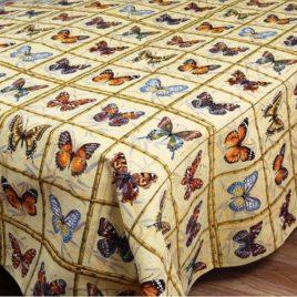 Коллекция бабочек (150х220 см) — скатерть гобеленовая