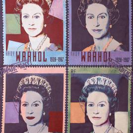 Уорхол Королева (170х230 см) — панно гобеленовое на подкладке