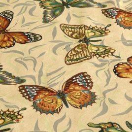 Бабочки 150 см — ткань гобеленовая