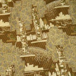 Город (150 см) — ткань гобеленовая