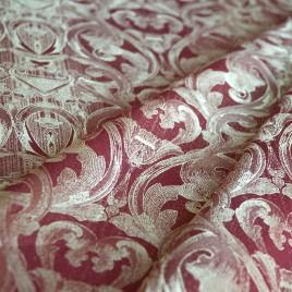 Корона (бордо) — ткань портьерная