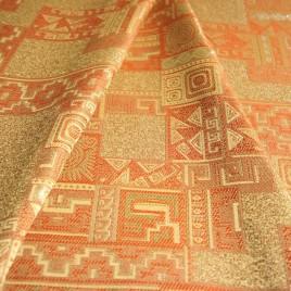 Солнце (золото) — ткань портьерная