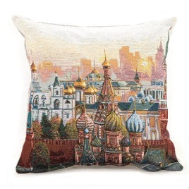 Москва (38х38 см) — подушка декоративная