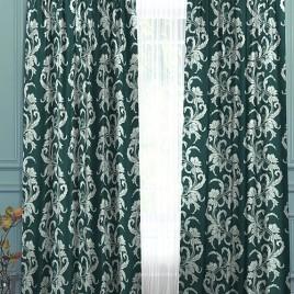 Бриз (изумруд) 145х280 см — комплект штор