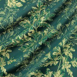 Эко Основа (изумруд) — ткань портьерная