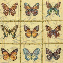 Коллекция бабочек 150 см — ткань гобеленовая